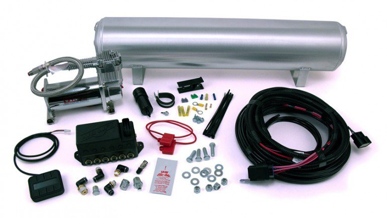 Airlift Performance AutoPilot V2 1-4inch Air Line_4 Gallon Tank_Viair 380C Compressor