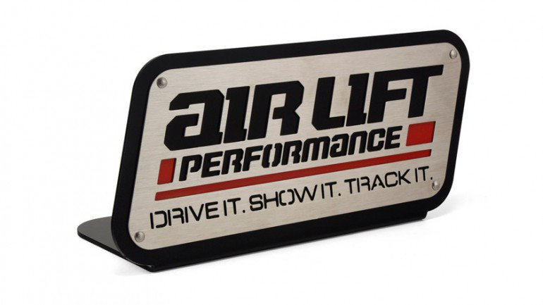 Airlift Performance show and shine bordje sign wheel stand
