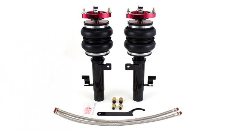 Airlift Performance front shocks Volvo C30