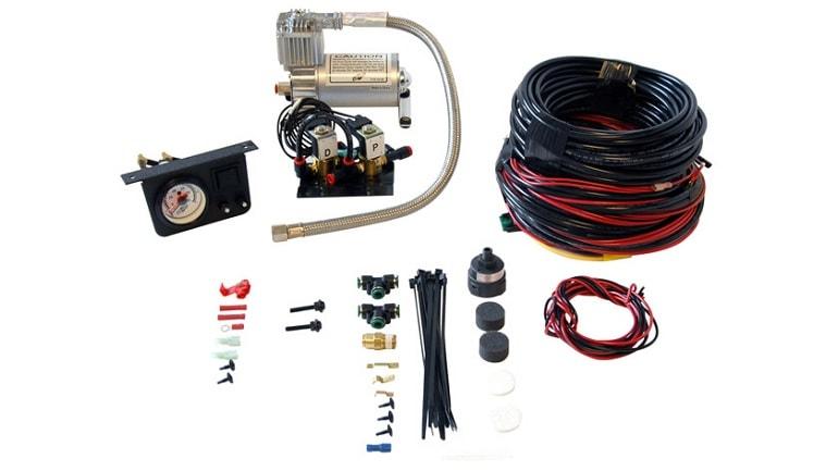 Dual On-Board Air Compressor System Heavy Duty