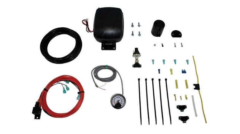 Single On-Board Air Compressor System