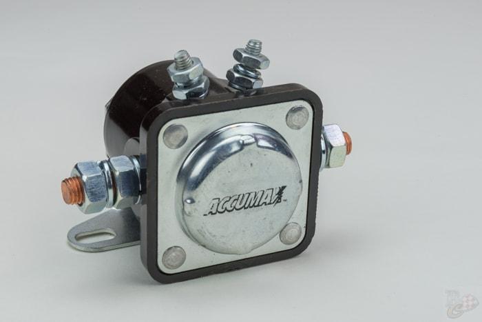 Accumax solenoid