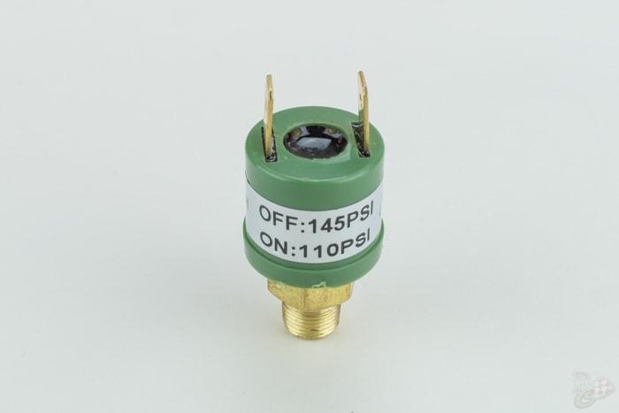drukschakelaar pressure switch 110-145 psi 90102