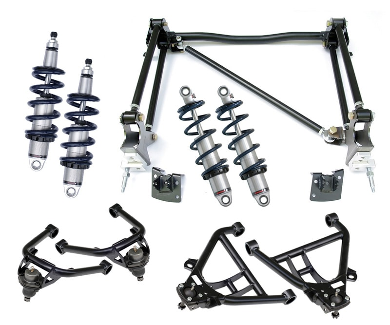 Ridetech Chevrolet BelAir 1955-1957 CoilOver System Level 2 11020210 one piece frame_11030210 two piece frame