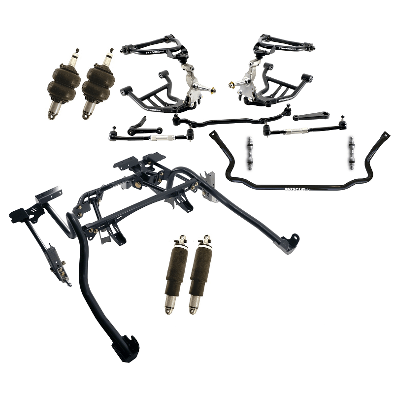 Ridetech airride Chevrolet Camaro 1970-1981 Level 1 analoog 11170297