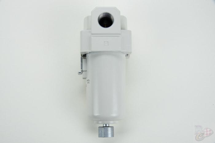 waterfilter staal waterafscheider