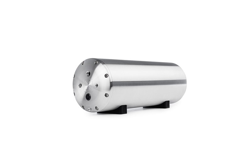 AccuAir AA-ENDO-VT23-RAW 3-Gallon ENDO-VT Aluminum Tank