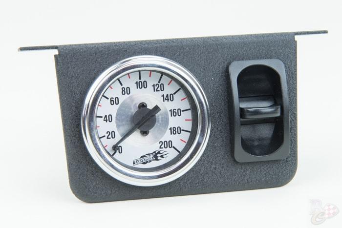 AirLift single needle lucht drukmeter_schakelaar 26161 front