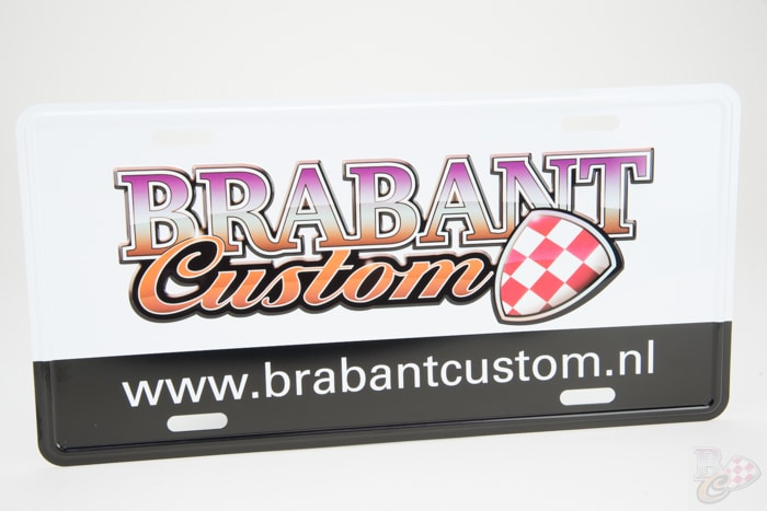 Brabant Custom USA nummerplaat