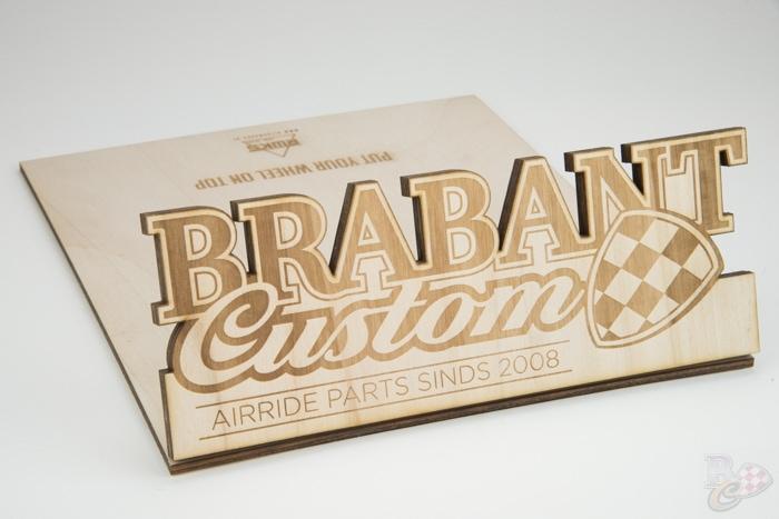 Brabant Custom wiel standaard